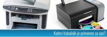 Kako izbrati pravi tiskalnik?