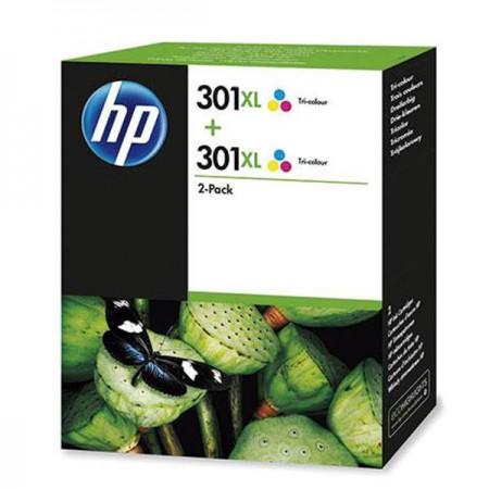 Kartuša HP 301 XL Color / Dvojno pakiranje / Original