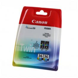 Kartuša Canon CLI-36 Color / Twin-Pack / Original
