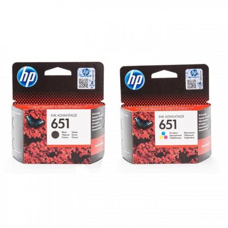 Komplet kartuš HP 651 / Original