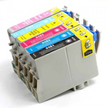 Komplet kartuš Epson T0481, T0482, T0483, T0484, T0485, T0486