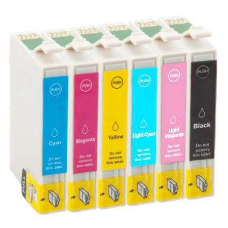 Komplet kartuš Epson T0801, T0802, T0803, T0804, T0805, T0806