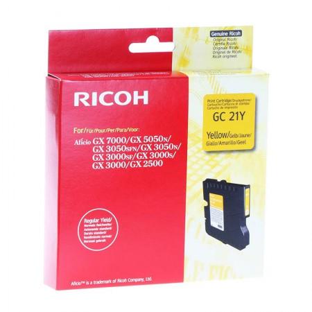 Kartuša Ricoh GC21Y Yellow / Original