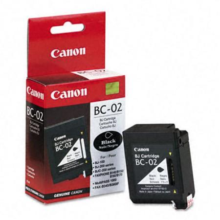 Kartuša Canon BC-02 Black / Original