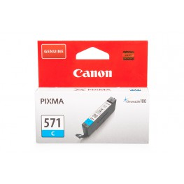 Kartuša Canon CLI-571 Cyan / Original