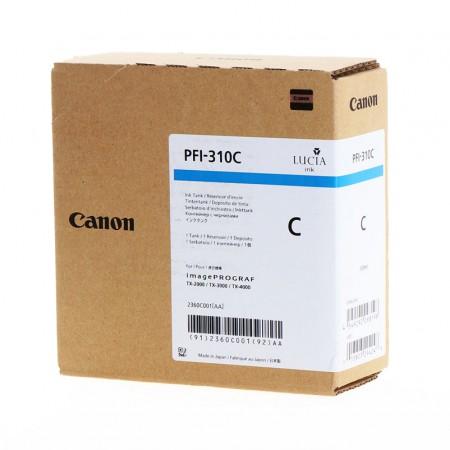 Kartuša Canon PFI-310C Cyan / Original