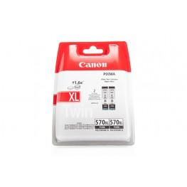 Kartuša Canon PGI-570PGBK XL Black / Dvojno pakiranje / Original