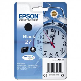 Kartuša Epson 27 Black / T2701 / Original