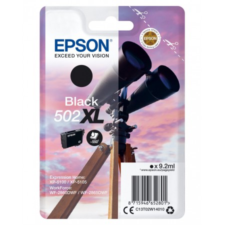Kartuša Epson 502 XL Black / Original