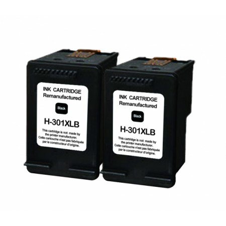 Kartuša HP 301 XL Black / Dvojno pakiranje