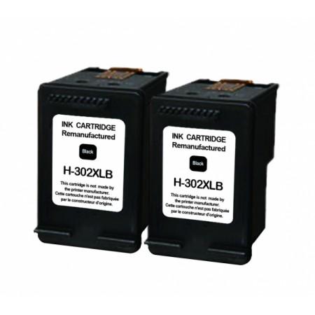 Kartuša HP 302 XL Black / Dvojno pakiranje