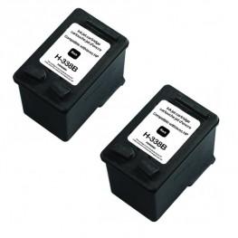 Kartuša HP 338 Black XL / Dvojno pakiranje