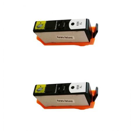 Kartuša HP 655 Black XL / Dvojno pakiranje