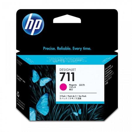 Kartuša HP 711 Magenta 3-Pack / Original