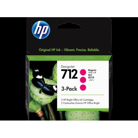 Kartuša HP 712 Magenta 3-Pack / Original