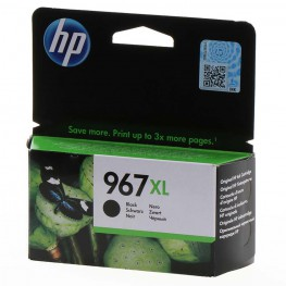 Kartuša HP 967 XL Black / Original