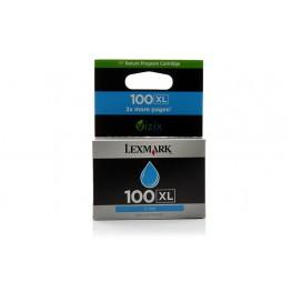 Kartuša Lexmark 100 XL Cyan / Original