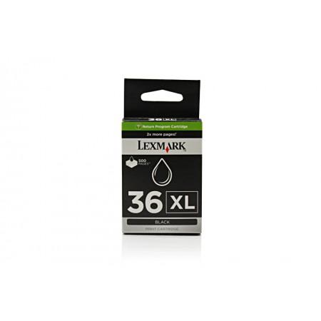 Kartuša Lexmark 36 XL Black / Original