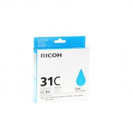 Kartuša Ricoh GC31C Cyan / 405689 / Original