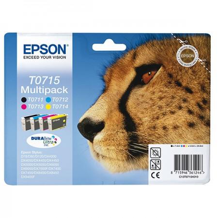 Komplet kartuš Epson T0715 / Original