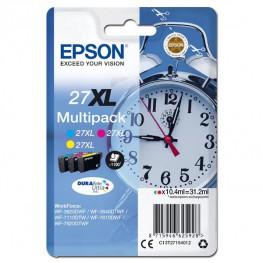 Komplet barvnih kartuš Epson 27 XL (CMY) / Original