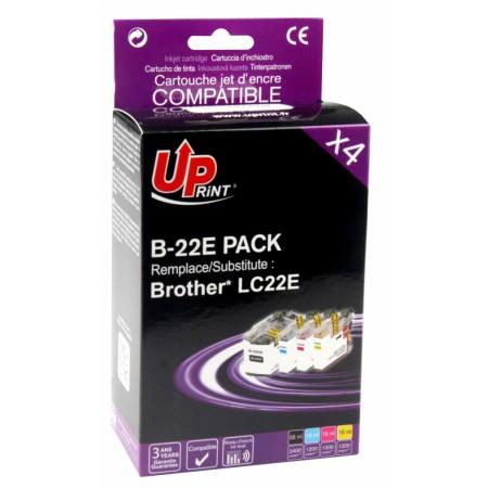 Komplet kartuš Brother LC22E
