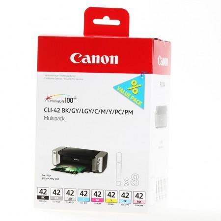 Komplet kartuš Canon CLI-42 / Original