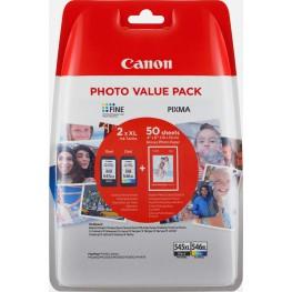 Komplet kartuš Canon PG-545 XL in CL-546 XL + Foto papir / Original