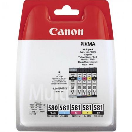 Komplet kartuš Canon PGI-580 in CLI-581 / Original