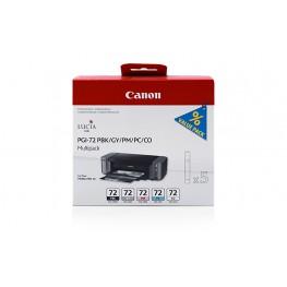 Komplet kartuš Canon PGI-72 (PBK, LC, LM, GY, CO) / Original