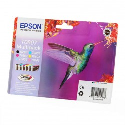 Komplet kartuš Epson T0807 / Original