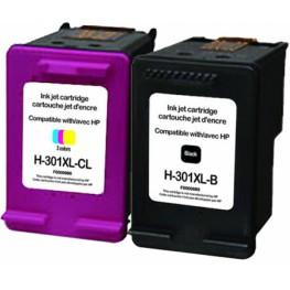 Komplet kartuš HP 301 XL