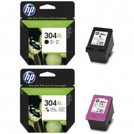 Komplet kartuš HP 304 XL / Original