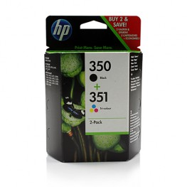 Komplet kartuš HP 350 in HP 351 2-Pack / Original