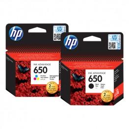 Komplet kartuš HP 650 / Original