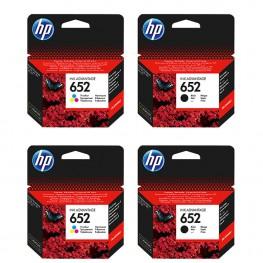 Komplet kartuš HP 652 / Dvojno pakiranje / Original