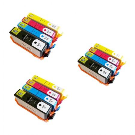 Komplet kartuš HP 655 XL / Trojno pakiranje