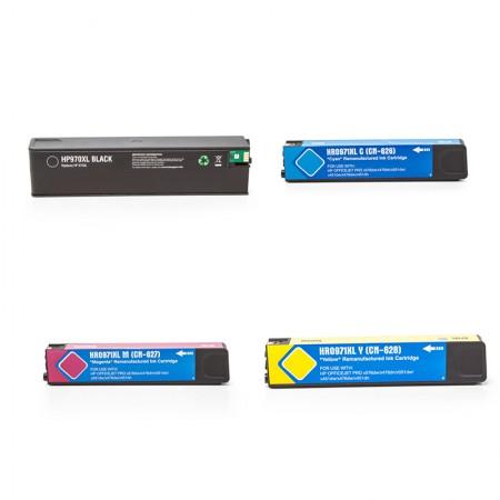Komplet kartuš HP 970 XL in HP 971 XL