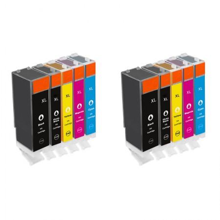 Komplet kartuš Canon PGI-570 XL in CLI-571 XL / Dvojno pakiranje