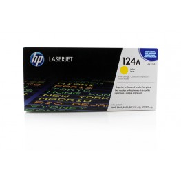 Toner HP Q6002A Yellow / 124A / Original