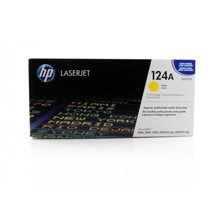 Toner HP Q6002A Yellow / 124A / Original