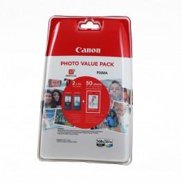 Komplet kartuš Canon PG-560 XL in CL-561 XL + Foto papir / Original
