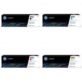 Komplet tonerjev HP 205A (CF530A, CF531A, CF532A, CF533A) / Original