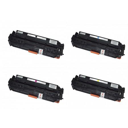Komplet tonerjev HP 312A (CF380X, CF381A, CF382A, CF383A)