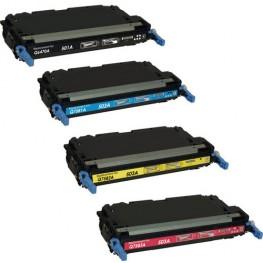 Komplet tonerjev HP 501A in HP 503A (Q6470A, Q7581A, Q7582A, Q7583A)