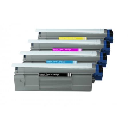 Komplet tonerjev OKI C5500, C5800 in C5900 (CMYK)