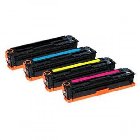Komplet tonerjev HP 125A (CB540A / CB541A / CB542A / CB543A)