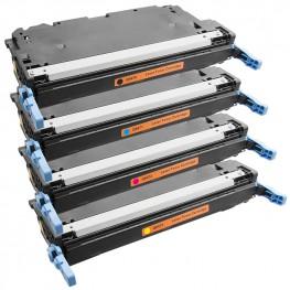Komplet tonerjev HP 501A in HP 502A (Q6470A, Q6471A, Q6472A, Q6473A)