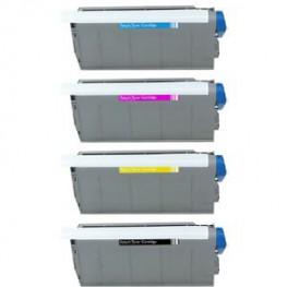 Komplet tonerjev OKI C7100, C7300 in C7500 - 10000 strani