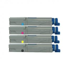 Komplet tonerjev OKI C3300, C3400 in C3600 - 2500 strani